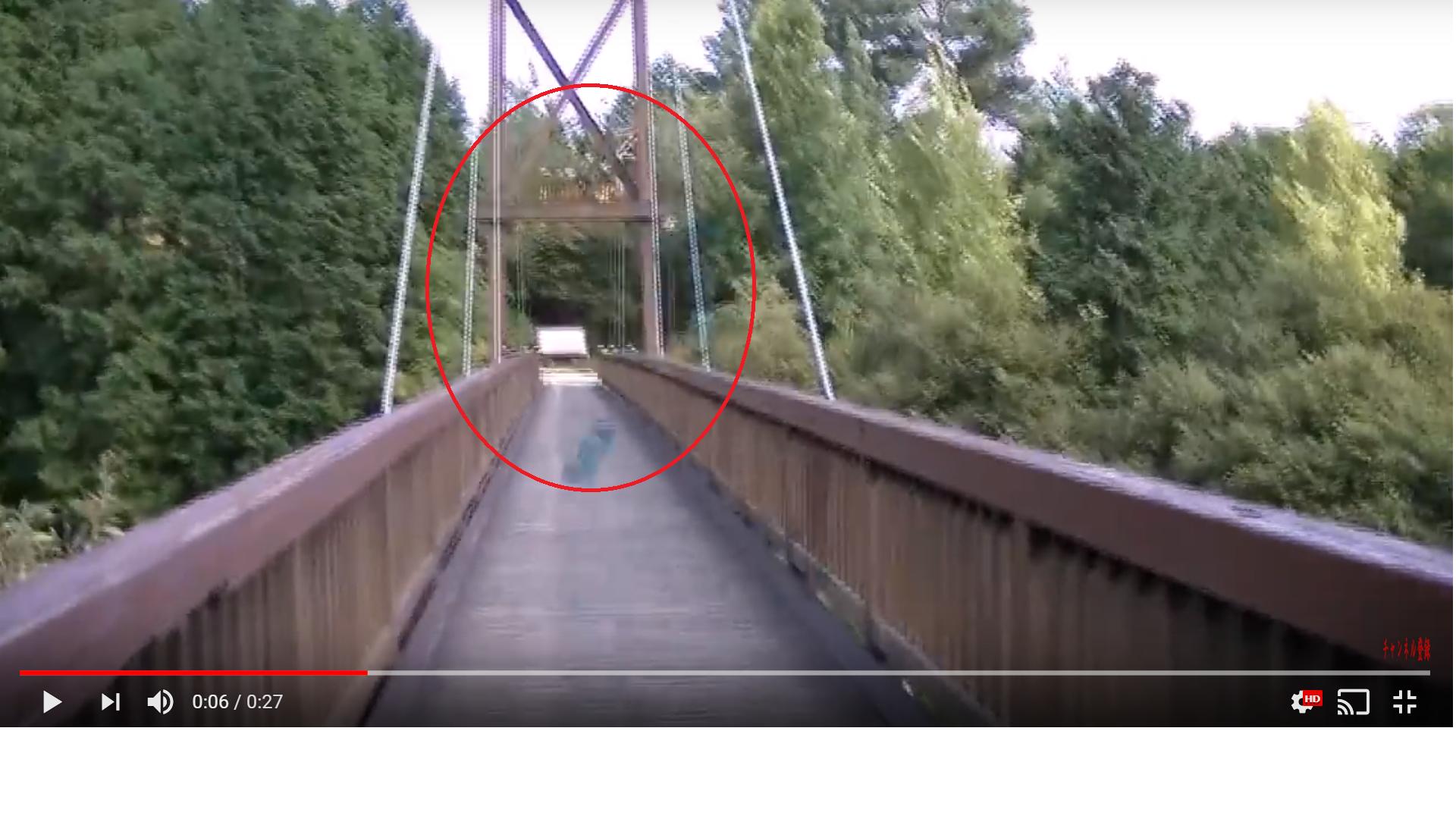 ハイキング中に現れたマラソンランナーの心霊動画!