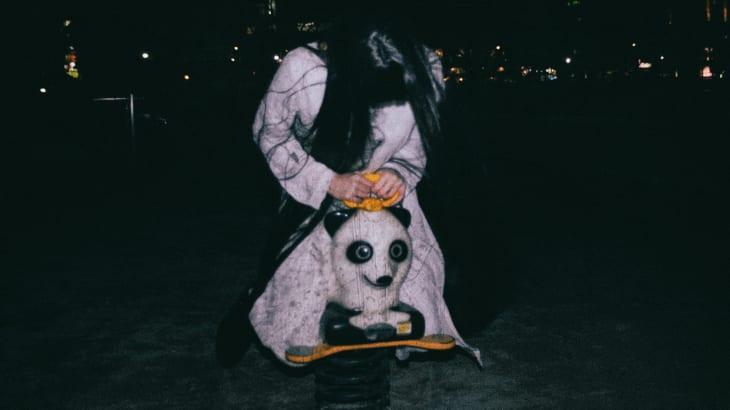 夜の公園に出た霊