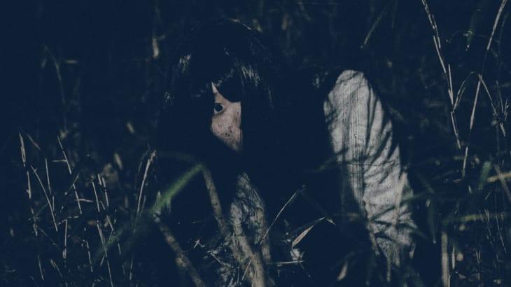 山にいた女性の幽霊