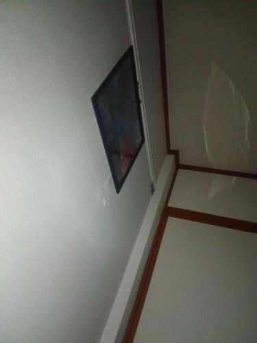 【心霊写真】金縛りと共に自室の天井に映る白い影