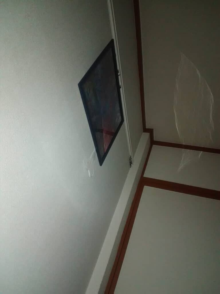 熊本のアパートで撮影された心霊写真